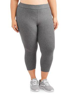 Women's Plus Size Super Soft Capri Legging