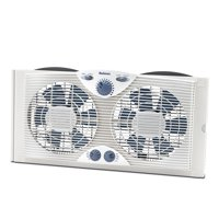 Holmes Dual Blade Window Fan with Comfort Control Thermostat (HAWF2041-N)