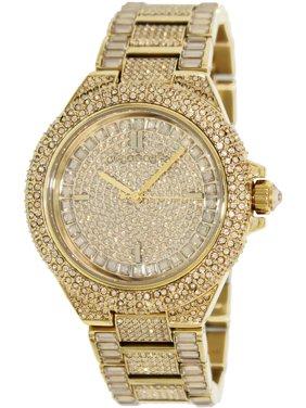 Women's Camille MK5720 Gold Stainless-Steel Japanese Quartz Fashion Watch