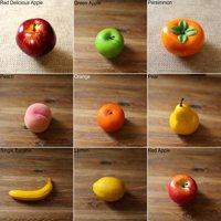 Girl12Queen Lifelike Decorative Artificial Fruits Fake Apple Banana Pear Home House Decor
