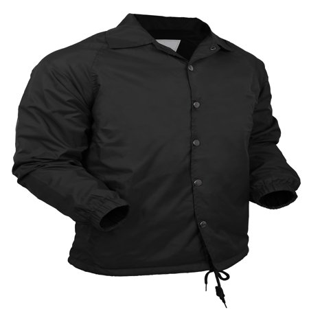 Mens Coach Jacket Lightweight Windbreaker Waterproof Sportswear - Lightweight Nylon Windbreaker