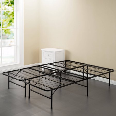 Spa Sensations Steel Smart Base Bed Frame Black, Multiple Sizes ...