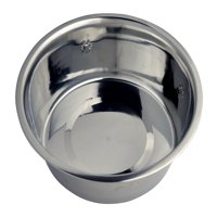 Vibrant Life Stainless Steel Dog Bowl with Paws, Large