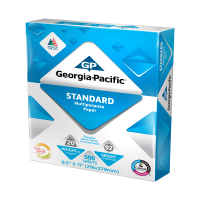 "Georgia-Pacific Standard Paper 8.5"" x 11"", 20lb/92 Bright, 500 Sheets"
