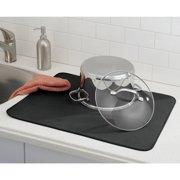 Interdesign Idry Absorbent Kitchen Countertop Dish Drying Mat Trellis X Large