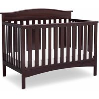 Delta Children Baker 4-in-1 Convertible Crib, Dark Chocolate