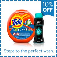 Buy and Save: Tide Pods Detergent Pacs (81 ct) and Downy Unstopables Scent Booster Beads