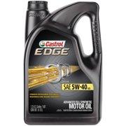 Castrol EDGE 5W-40 Advanced Full Synthetic Motor Oil, 5 QT