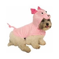 product image piggy pink pet cute farm animal cat dog halloween costume