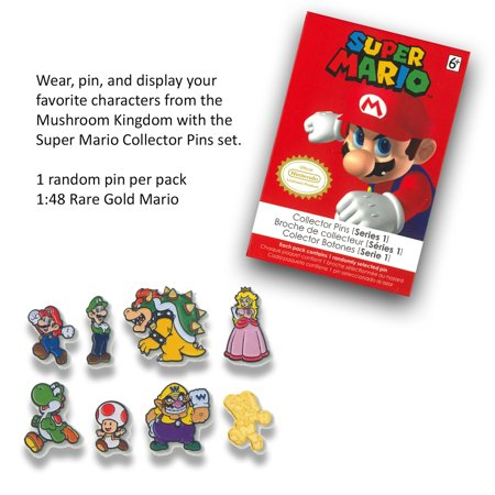Your choice of Mario Pins