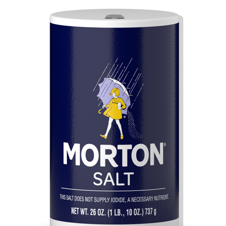 (2 pack) Morton Table Salt, 26 (Min Salt)