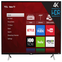"TCL 43"" Class 4K Ultra HD (2160P) Roku Smart LED TV (43S405)"