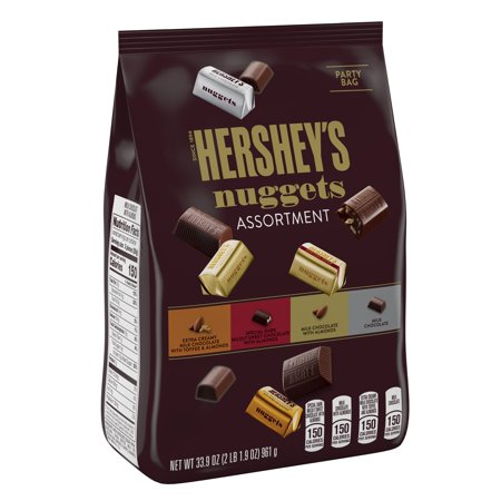 Hershey's Nuggets Assortment Chocolate Candy, 33.9 Oz.