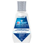 Crest Pro-Health Advanced Alcohol Free Mouthwash with Extra Whitening, Energizing Mint Flavor 946 mL