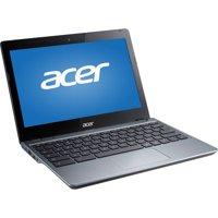 "Refurbished Acer C720P-2625 11.6"" Chromebook, Touchscreen, Chrome, Intel Celeron 2955U Dual-Core Processor, 4GB RAM, 16GB Flash Drive"