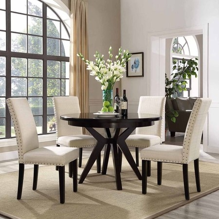 - Modway Parcel Upholstered Dining Side Chair, Multiple Colors