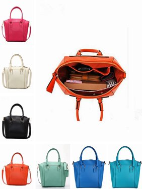 Fashion Women Hobo Crossbody Messenger Bag PU Leather Handbag Tote Bags For Women