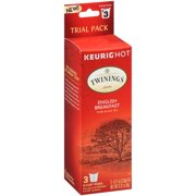 (4 Pack) Twinings of London®  English Breakfast 3 ct K-Cup® Pods 0.32 oz. Box
