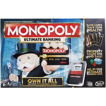 Monopoly Game: Ultimate Banking Edition (Dog Monopoly Board Game)