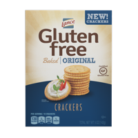 (2 Pack) Lance Gluten Free Original Baked Crackers, 5 Oz