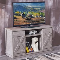 Harper&Bright Designs Wood TV Stand Cabinet Entertainment Media Console Center