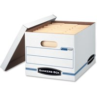 Bankers Box, FEL5703604, Bankers Lift-off Lid Box Stor/File Box, 6 / Pack