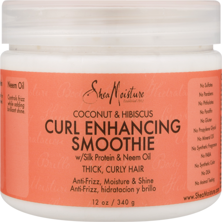 SheaMoisture Coconut & Hibiscus Curl Enhancing Smoothie, 12