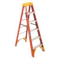 Werner Type Ia Pro Grade Fiberglass Step Ladder, 6'