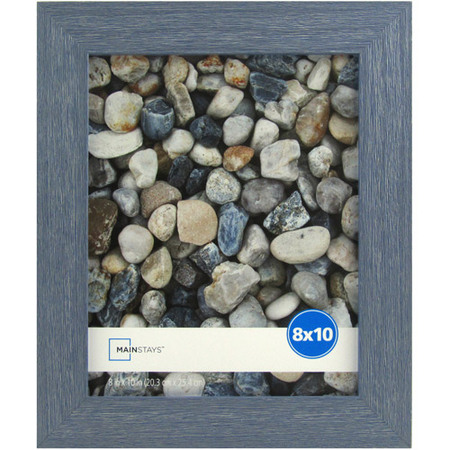 - Mainstays Ogunquit 8x10 Blue Picture Frame