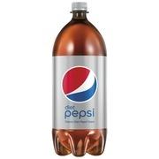Diet Pepsi Soda, 2 Liter Bottle