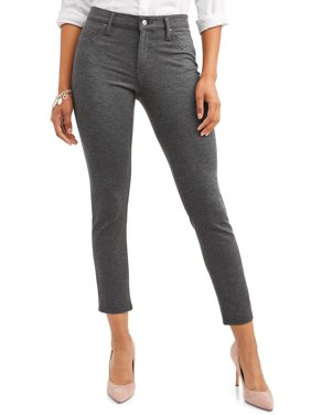 Women's 5 Pocket Straight Leg Ponte Pant