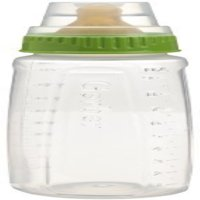 Gerber First Essentials Clearview Bottle in Assorted Colors with Latex Nipple, Colors May Vary 1 ea