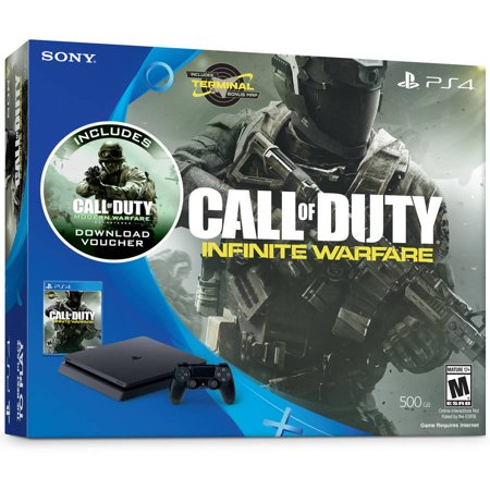 Sony PlayStation 4 Slim 500GB Call of Duty: Infinite Warfare Bundle, Black