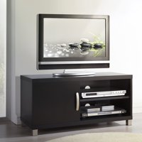"""Techni Mobili Modern TV Stand with Storage for TVs Up To 40"""", Black (RTA-8897-BK)"""