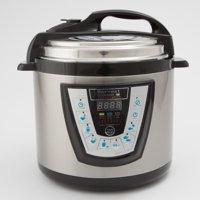 Harvest Cookware Electric Original Pressure Pro 6-Quart Pressure Cooker, Black