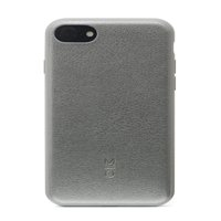MOTILE™ Vegan Leather Phone Case for iPhone® 8, iPhone® 7, Pewter