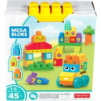 Mega Bloks Building Basics 123 Counting Bus
