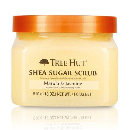 - Tree Hut Shea Sugar Scrub Marula & Jasmine, 18oz, Ultra Hydrating and Exfoliating Scrub for Nourishing Essential Body Care
