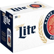 Miller Lite Beer, 30 pack, 12 fl oz
