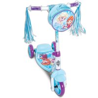 Disney Frozen Girls' 3-Wheel Preschool Scooter, by Huffy