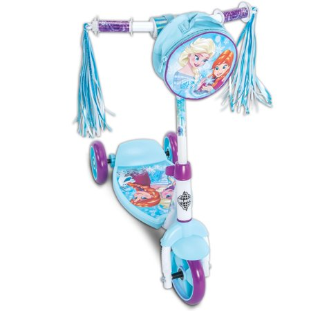 Disney Frozen Girls' 3-Wheel Preschool Scooter, by