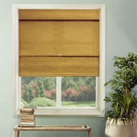 Chicology Cordless Magnetic Roman Shades, Privacy Fabric Window Blind