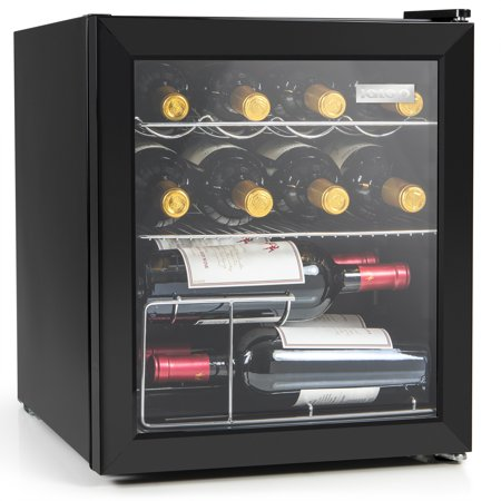 Igloo IBC16BK 60 Can or 15 Bottle Beverage Center & Wine Cooler, Stainless (Steel Refreshment Center)