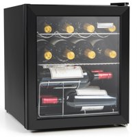 Igloo IBC16BK 60 Can or 15 Bottle Beverage Center & Wine Cooler, Stainless Steel