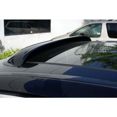 "TuningPros DSV-118 1080mm 42.5"" Sunroof Moonroof Top Wind Deflector Visor For 2011-2016 Dodge Durango in Dark Smoke 1 Pc Set"