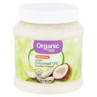 Great Value Organic Unrefined Virgin Coconut Oil, 54 fl oz