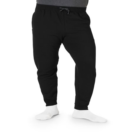 Fleece Lined Knit Pants (Men's Fleece Jogger Sweatpants, available up to 3XL)