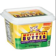 MOVE OVER BUTTER Whipped Vegetable Oil Spread With Sweet Cream Buttermilk, 10.05-oz. Tub