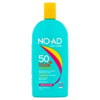 NO-AD Paraben-Free Kids Sunscreen SPF 50, 16 Fl Oz