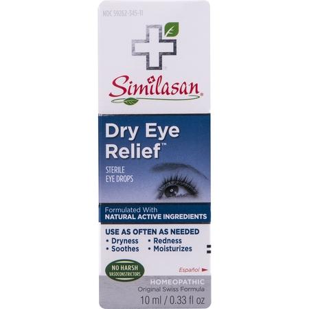 Dry Eye Relief Drops (Similasan Dry Eye Relief Sterile Eye Drops, 0.33 FL OZ )
